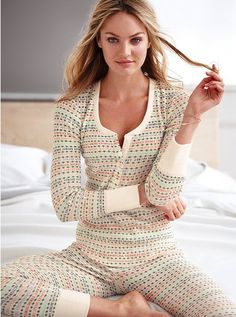 Victoria's Secret The Fireside Long Jane Pajama