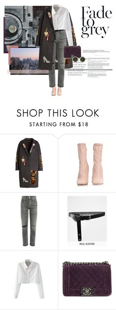 """""""Untitled #667"""" by danceaddict15 ❤ liked on Polyvore featuring Dolce&Gabbana, Alexander McQueen, Citizens of Humanity, ASOS, WithChic, Chanel and Linda Farrow"""