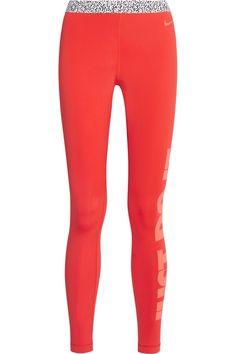 Nike | Pro Warm stretch-jersey leggings | NET-A-PORTER.COM