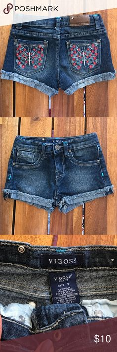 Vigoss Girls Jean Shorts Size 5 Vigoss Bottoms Shorts