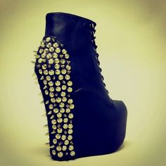 Jeffery Campbell shoes again! I'm in love with his shoes!