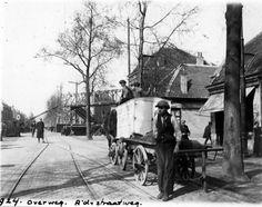 Gezicht in de Amsterdamsestraatweg te Utrecht uit het zuiden.1922
