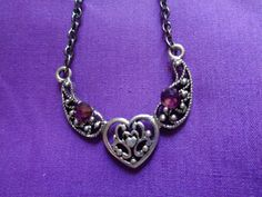 Maleficent inspired necklace by TinkerGirlBoutique on Etsy