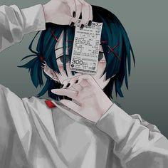 Anime Oc, Chica Anime Manga, Sad Anime, Manga Boy, Otaku Anime, Kawaii Anime Girl, Anime Art Girl, Dark Anime Girl, 8bit Art