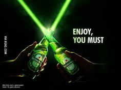 This is awesome, Heineken just posted this on facebook