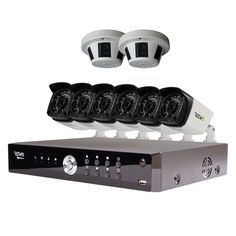 REVO America Advanced Aerohd Video Security System With 8 Cameras for sale online Video Security System, Home Security Systems, Cameras For Sale, Security Camera, Hd 1080p, America, Technology, Ebay, Backup Camera