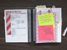 Planner Dashboard by Ashley Cannon Newell for Papertrey Ink (March 2015)