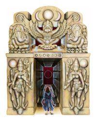 Wayfarer Tarot Art by Rosiland Solomon