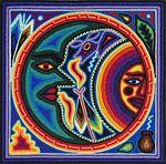 Huichol Sun and Moon