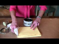 How to Apply Wax to Chalk Paint - Sincerely, Sara D.Sincerely, Sara D.