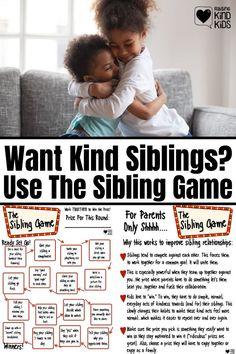 Sibling Relationships, Gentle Parenting, Kids And Parenting, Parenting Hacks, Love Languages For Kids, Sibling Fighting, Fighting Kids, Sibling Rivalry, Infancy