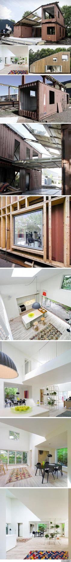 Modernen Container Haus   DEBESTE.de, Lustige Bilder, Sprüche, Witze und Videos
