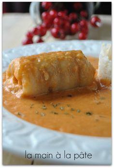 medaillon de sole sauce aux crevettes