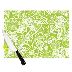 "Vine Shadow by Jacqueline Milton 15.75"" Cutting Board"