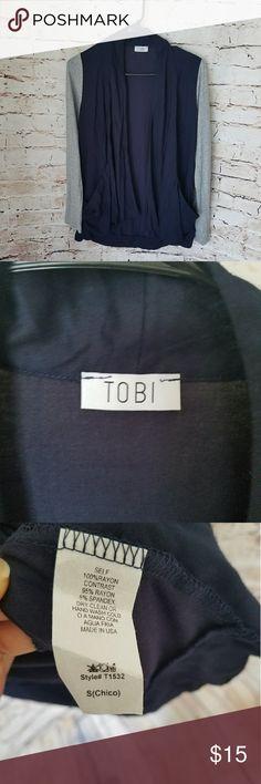 Tobi open cardigan Super cute open cardigan. Tobi Sweaters Cardigans