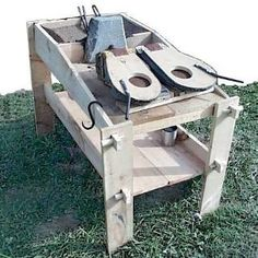 portable Viking Forge setup