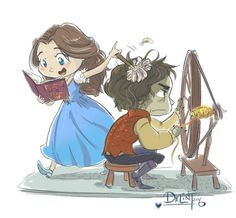 The fanart for this couple is toooo cute i cant