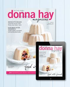 donna hay magazine entertaining issue, 2012