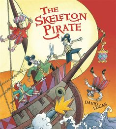 The Skeleton Pirate is the Terror of the Seas, and he'll never be beaten! That is, until he gets beaten by an unruly bunch of pirates and is thrown overboard. Down in the depths of the sea, he is rescued by a beautiful mermaid, only to be swallowed by a whale. With echoes of Pinocchio and Treasure Island, this picture book is full of humor and irrepressible energy, a perfect adventure for little would-be pirates. 9780763661076/3-7 yrs