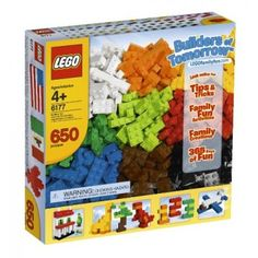Lego Bricks - Let their imaginations run wild with multicoloured constructions - houses, spaceships, castles, animals, trains and automobiles... Endless possibilities for building fun!