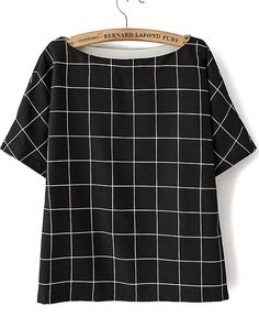 This boxy top is perfect for trying out the mod vibe. $24