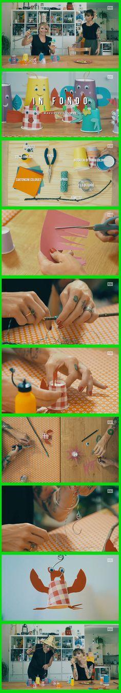 STUPENDO!! Creare un gioco per la pesca con dei bicchieri e tanta fantasia! Seguici anche su: http://www.rsi.ch/kiwi http://www.facebook.com/RSIvuoiqueikiwi