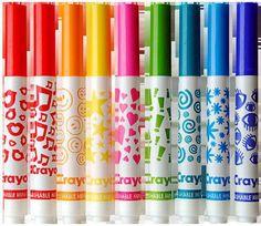 Crayola Stampers - oh my gosh!