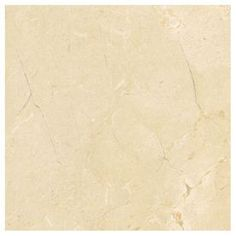 American Olean Mirasol 4-Pack Crema Laila Porcelain Floor And Wall Tile (Common: 24-In X 24-In; Actual: 23.44-In X 23.44