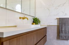 Williamstown Bathroom Renovation (Elegant Period Home) - The Inside Project