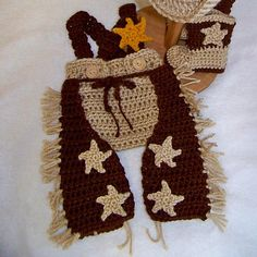 Ravelry: CowBoy  Cowgirl Accessories pattern by Carolyn VanOstran