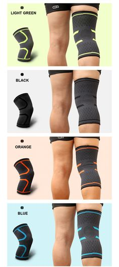 1PCS Fitness Running Cycling Knee Support   Home Care Fitness Chloe Ting, Jogging Shoes, Sporty Outfits, Mens Fitness, Red And Blue, Pairs, Running, Espn, Trekking