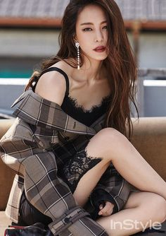 Han Ye Seul Shows Fatal Attraction On Cover Of July 2016 InStyle Korea | Couch Kimchi