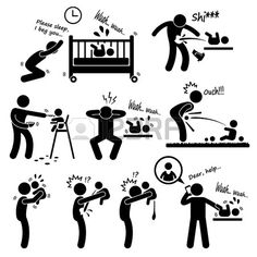 Illustration of Family Abuse Children Hitting Confine Sexual Harassment Stick Figure Pictogram Icon vector art, clipart and stock vectors. Sharpie Drawings, Childbirth Education, Clipart Black And White, Teaching Aids, Parenting Memes, Gentle Parenting, Toddler Fun, Stick Figures, Dog Tattoos