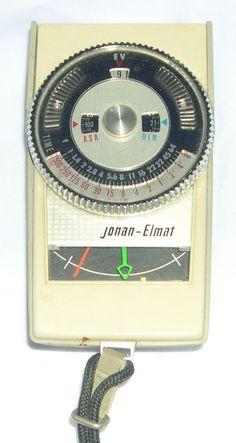 Jonan-Elmat No.109 Analog Exposure Meter Jonan Elelectric Co. Japan #JonanElmat Photo Studio Lighting, Vintage Cameras, Japan, Marketing, Ebay, Japanese Dishes, Japanese