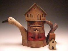 surrealism pottery.....love it!