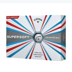 Summer  ladies golf clothing, still arriving daily at From the Red Tees:   Callaway Super So...  Be the first to have!  http://www.fromtheredtees.net/products/callaway-super-soft-golf-ball?utm_campaign=social_autopilot&utm_source=pin&utm_medium=pin