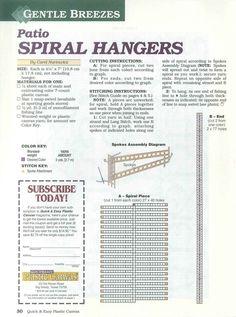 PATIO SPIRAL HANGERS 2/2