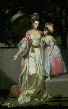 Sir Joshua Reynolds, Mrs. Jelf Powis and her Daughter, 1777. Oil on canvas, 236.5 x 145 cm. Sarah Campbell Blaffer Foundation, Houston. OK, now for some Reynolds to make things better. This is my absolute most favorite painting ever, portrait or otherwise. It's Reynolds at his best (and trust me, there's plenty of Reynolds at his worst). Just ignore Mrs. Powis' freakishly long right arm… not quite sure what's up with those proportions. Photo: SCBF