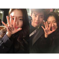 20150108 Park Shin Hye Instagram Update
