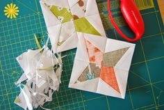 easypatchwork: mini tutorial for paper pieced stars