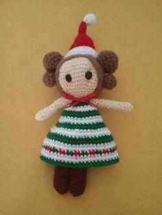 Muñeca Navidad #AlanaCreaciones