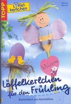 fakanálbábok5 - Eszter Toth - Picasa Webalbumok Magazine Crafts, Magazines For Kids, Book Crafts, Spring Crafts, Easter Crafts, Spring Time, Paper Cutting, Crafts To Make, Paper Flowers