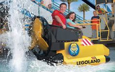 AQUAZONE® Wave Race | LEGOLAND California | LEGO