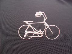 High Handlebar Bicycle Wire Art Sculpture -Handcrafted Bicycle FREEDOM Wire Wall Art Metallic Artwork -Specialized Unique Bike ...