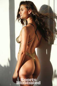 Lauren Mellor 2014 Swimsuit: Body Paint