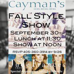 Fall style show!
