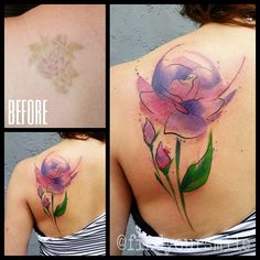 Purple Rose coverup by Russell van Schaick