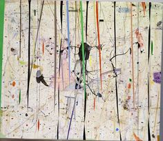 Graeme Todd  Blank Frank [2010]  paint, ink and varnish on plywood  122 x 140 cm