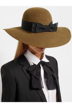 #Saint Laurent - hat