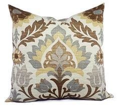 Two Brown Outdoor Pillow Covers Brown by CastawayCoveDecor